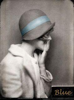 1920's Flapper vintage photo.