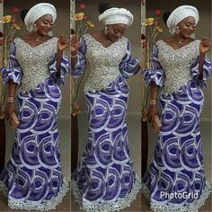 "153 Likes, 3 Comments - Jumoke Raji (@teekayfashion) on Instagram: ""Asoebi dress by TKF Makeover by @que_detailz"""