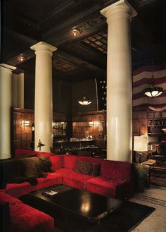 Not sure that to make of this....I think I like it?? Love the columns! #home #decor #architecture