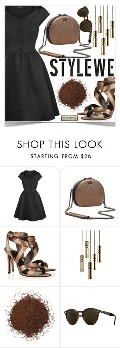 """STYLEWE outerwear for autumn ♥"" by av-anul ❤ liked on Polyvore featuring Lanvin, Lee Broom, Ray-Ban, Poncho & Goldstein, avanul and stylewe"