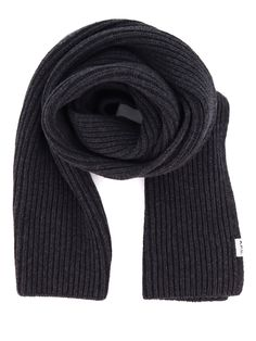 $154.41. A.P.C. A Echarpe Billie #apc # #accessories Apc, Cashmere Scarf, Stylists, Wool, Grey, Stuff To Buy, Accessories, Fashion, Gray