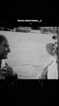 seven adam bakışı Ataturk Quotes, Story Instagram, Fake Photo, Galaxy Wallpaper, Good Vibes, My Hero, Love Quotes, Landscape, Movie Posters