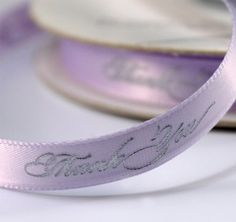 Thank You Favor Wedding Favor Ribbon plus more Favor Ribbon to decorate your wedding or bridal shower favors. Wedding Favor Ribbon is an easy way to incorporate your wedding colors or special message. Personalized Ribbon, Personalized Wedding Favors, How To Make Ribbon, Ribbon Diy, Wedding Themes, Wedding Ideas, Wedding Decor, Wedding Stuff, Wedding Inspiration