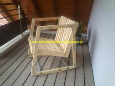 Απλές κατασκευές από παλέτες / Simple Pallet Construction
