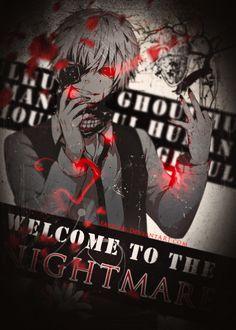 Ken Kaneki Nightmares Tokyo Ghoul by on DeviantArt Tokyo Ghoul Pictures, Ken Kaneki Tokyo Ghoul, Deadman Wonderland, Thing 1, Ayato, Wallpaper Pc, Awesome Anime, My Sunshine, In This World