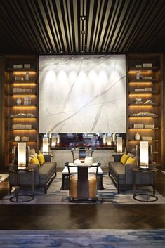 NUO Beijing by HBA/Hirsch Bedner Associates - Hotels Design Architecture Lounge Design, Lounge Bar, Lobby Lounge, Hotel Lobby, Contemporary Garden, Contemporary Bedroom, Contemporary Design, Contemporary Apartment, Contemporary Wallpaper