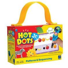 Hot Dots® Jr. Card Set Patterns & Sequencing