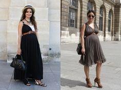 Miroslava Duma con ropa premama Ideas para conciliar estilo y embarazo: http://www.stylesyoulove.es/guia/ropa-de-premama-guia-embarazada-con-estilo