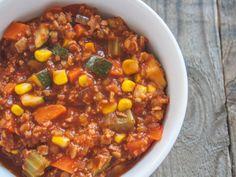bestes Chili Sin Carne mit Kakao und jeder Menge Gemüse | The Vegetarian Diaries