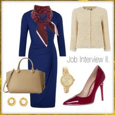 """Job Interview II."" by stehlikova-alice on Polyvore"