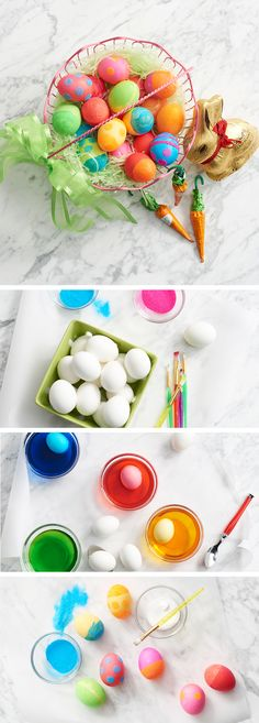 One of the best family traditions is dying Easter eggs. But why not take the DIY element (and the fun) one step further? After the eggs have been dyed and dried, bring out the glue and glitter. Experiment with different patterns like polka dots or stripes—the result is brilliant! Get set for Easter at Kohl's.