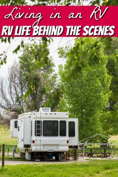 Living in a RV has it's ups and downs. Everyone sees the great travel adventures but they don't see the behind the scenes of RV life. Let me show you.