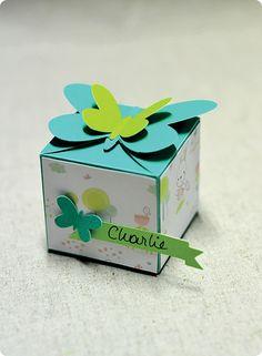 Tuto : Réaliser une boîte papillon, par Madiwi