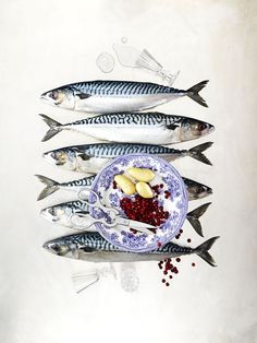 ♂ Still life Food styling food photography fishes dish from http://www.agentbauer.com/