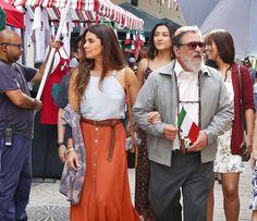Giovanna Antonelli, Luis Melo, Carol Nakamura e Jacqueline Sato em gravação de Sol Nascente (Foto: Ellen Soares/Gshow)