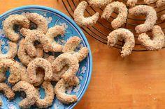 Fers à cheval aux amandes C'est Bon, Mousse, Cookies, Desserts, Vanilla Sugar, Almonds, Horse, Food Porn, Food