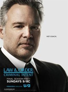 Law & Order: Criminal Intent..... I miss that TV show