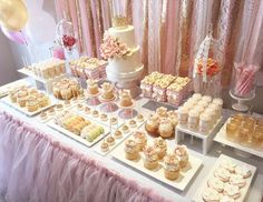 """Pink and Gold / Birthday """"Princess Lily's 1st Pink and Gold Birthday""""   Catch My Party"""