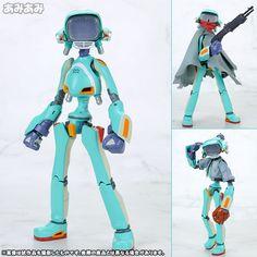 AmiAmi [Character & Hobby Shop] | RIO:bone - FLCL: Canti (Green) [Re-release](Preorder)