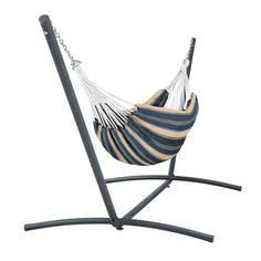 """Perfect for one or cozy for two, the Classic Accessories Brazilian Hammock with Steel Stand provides an ideal place for relaxation. Rest assured knowing that your hammock will retain its look season after season. Outdoor Hammock, Hammock Swing, Hammock Chair, Indoor Outdoor, Hammocks, Chair Cushions, Outdoor Dining, Brazilian Hammock"