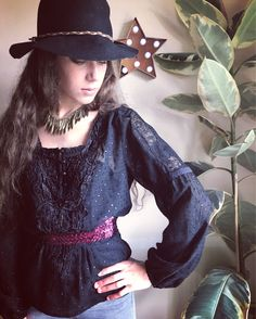 A personal favourite from my Etsy shop https://www.etsy.com/uk/listing/538523972/boho-blouse-reworked