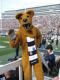 Current Penn State University mascot- Nittany Lion.