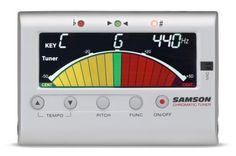 Samson CM40 Chromatic Tuner and Metronome: With Manual and Automatic modes to make tuning a breeze, plus a built-in metronome to help you stay on the beat, this tuner is perfect for beginners.