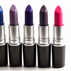 MAC Pick Me Pick Me, Model Behavior, On and On, Pink You Think? Lipsticks Reviews, Photos, Swatches