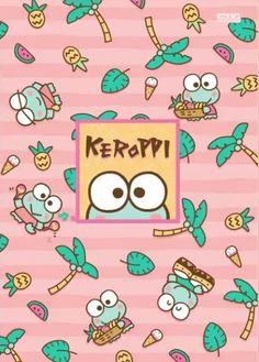 Aesthetic Iphone Wallpaper, Aesthetic Wallpapers, Keroppi Wallpaper, Pastel Grunge, Favorite Cartoon Character, Kawaii, Sanrio Characters, Comic Games, Doraemon