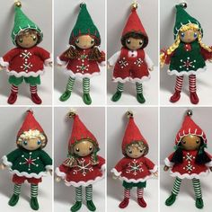 New elves just added to the shop www.pntdolls.com
