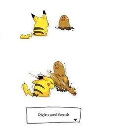 #Pokemon Diglett using scratch
