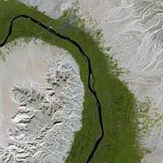 Nile (Egypt), Satellite Image (via Judith Lombardi)