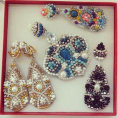 My earrings . Handmade