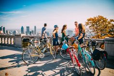 Immersive Bike & Walking Tours that show you the Best of Montreal in an active way St Lawrence, Of Montreal, The St, Summer Travel, Walking Tour, Nice View, Iroquois, Street View, Indian Tribes