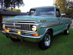Nicely Optioned: 1970 Ford Ranger XLT