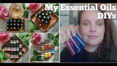 My Essential Oils DIYs - Healing Blend & Joy Roller Perfume