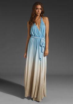 gorgeous ombre maxi dress