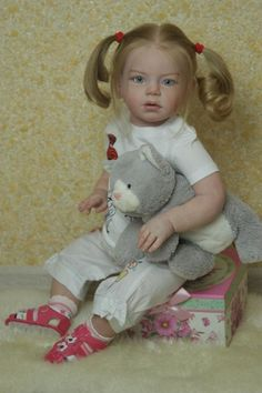 Isabella Toddler by Regina Swialkowski - Online Store - City of Reborn Angels Supplier of Reborn Doll Kits and Supplies