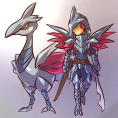 Skarmory | 100 Human-Like Pokémon Adaptations