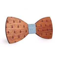 Wooden Bow Tie - Sailor