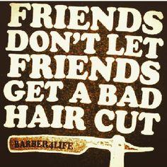 sign at barbershop