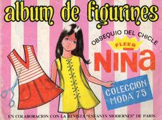 Álbum de cromos de Figurines de Niña