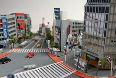 Impeccably Crafted Miniature Japanese Paper Cities - My Modern Metropolis