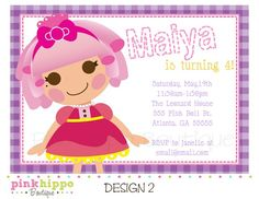I think Im going to use this theme for Lexi's 4th birthday...she loves lala loopsy :)