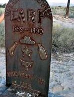 Warren Earp. Grave Site: Pioneer Cemetery. Year Buried: 1900. Where: Willcox, Arizona. Warren Baxter Earp rode with his infamous brother Wyatt and others on the legendary 1882 Vendetta Ride. On July 6, 1900, the quick-tempered Warren got in a fight with rancher Henry Hooker's range boss, Johnny Boyett, who gunned Warren down in a Willcox saloon.