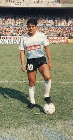 Ruben Paz.Campeón con Racing Club de Avellaneda en Supercopa Sudamericana 1988