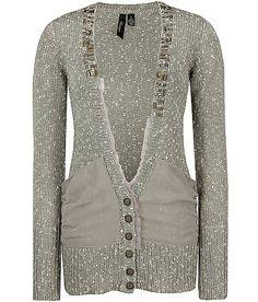 BKE Boutique Marled Cardigan Sweater