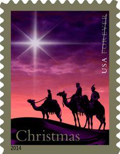 Christmas Magi, Forever® stamp, 2014