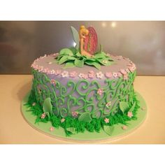 Tinkerbell cake Ella's 4th birthday party