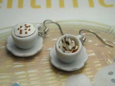 Earrings polymer clay cute sweets kawaii by lagalleriadellearti, $13.00